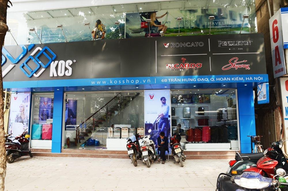 Cửa hàng bán ví da nam tại Hà Nội