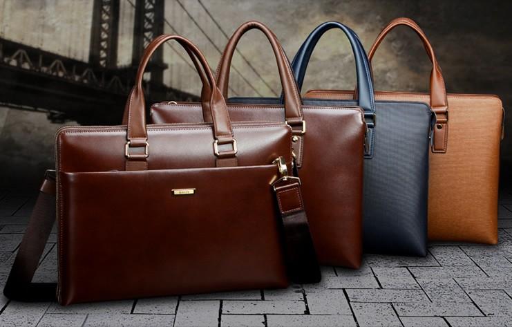 Những chiếc túi xách da nam có gam màu hiện đại đem lại sự trẻ trung, cá tính
