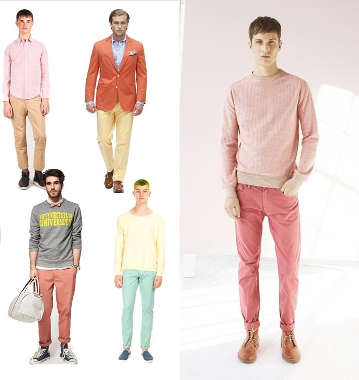 Trang phục gam màu pastel