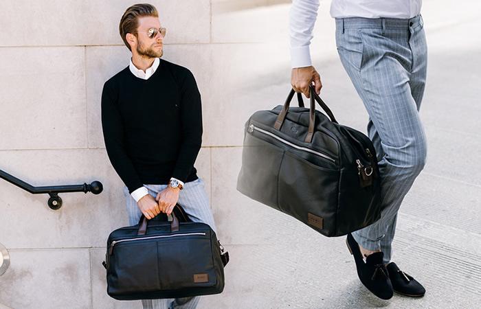 Chọn túi xách nam hợp với dáng người ngay với hướng dẫn hữu ích