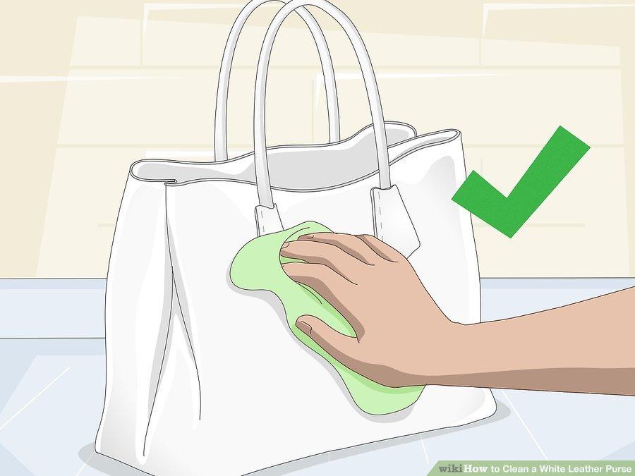 Mẹo làm sạch túi xách nam bằng vải bị mốc với giấm