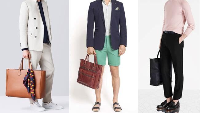 Cách đeo túi xách nam đẹp hợp dáng người cao gầy