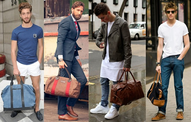 Cách chọn size túi xách nam hợp trang phục