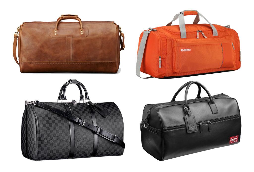 Chọn mua túi xách nam du lịch theo chất liệu