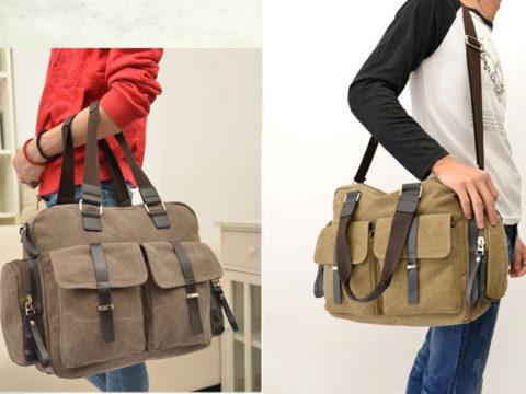 Các tiêu chí để chọn túi xách nam bằng vải phù hợp nhất