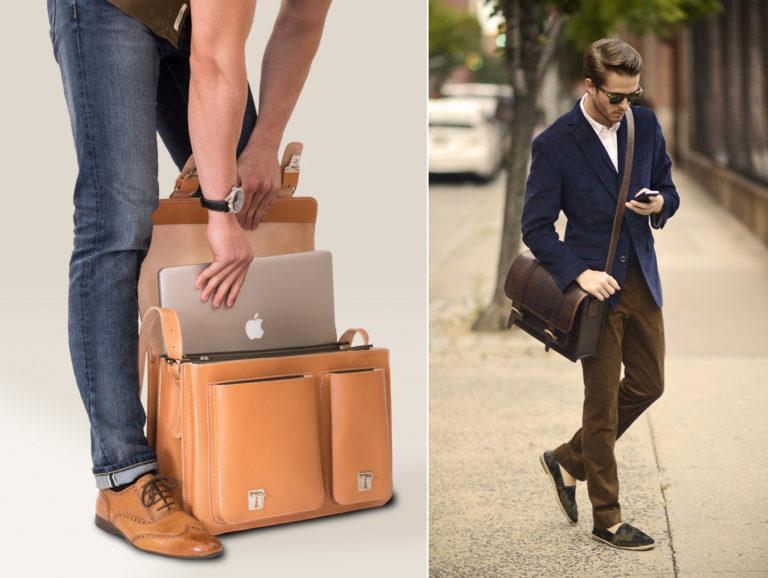 cách chọn size túi xách nam đẹp phù hợp